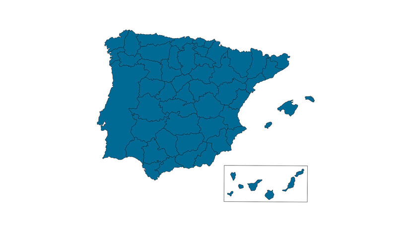 contact person, Customer Service, profile and map, all regions, spain and portugal, ES
